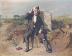 The weary traveler – John Ritchie (1828 – 1905)